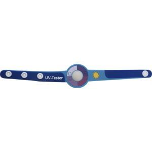 UV-mérő karpánt, kék