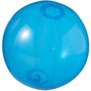 Ibiza átlátszó strandlabda, kék