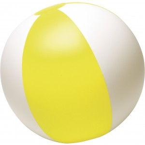 Strandlabda, PVC, sárga
