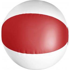 Strandlabda, PVC, piros